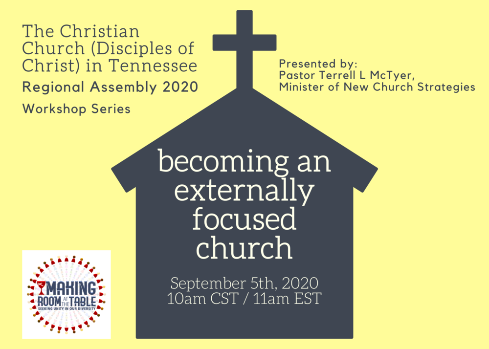 becoming an externally focused church
